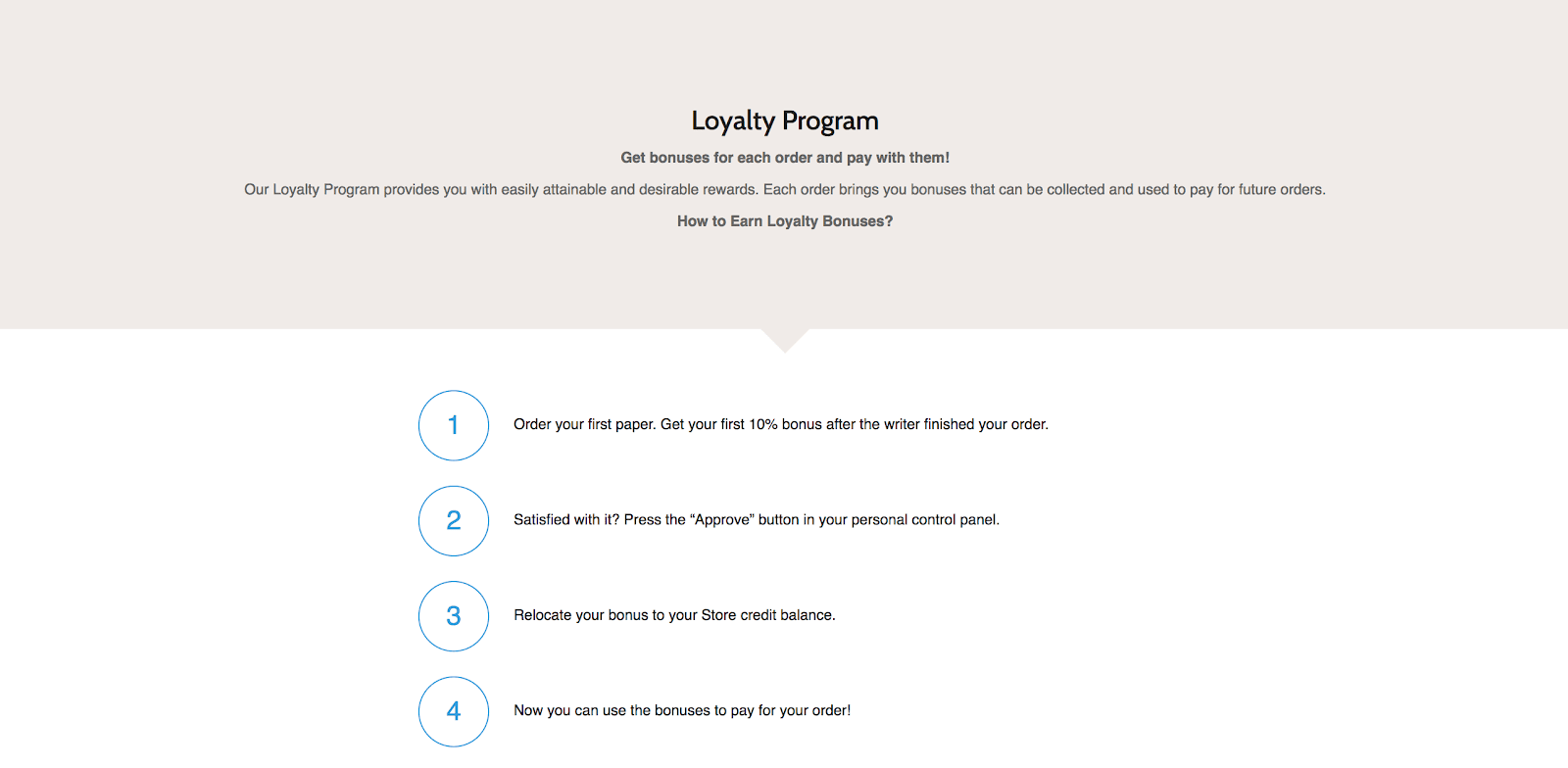 paperhelp loyalty program
