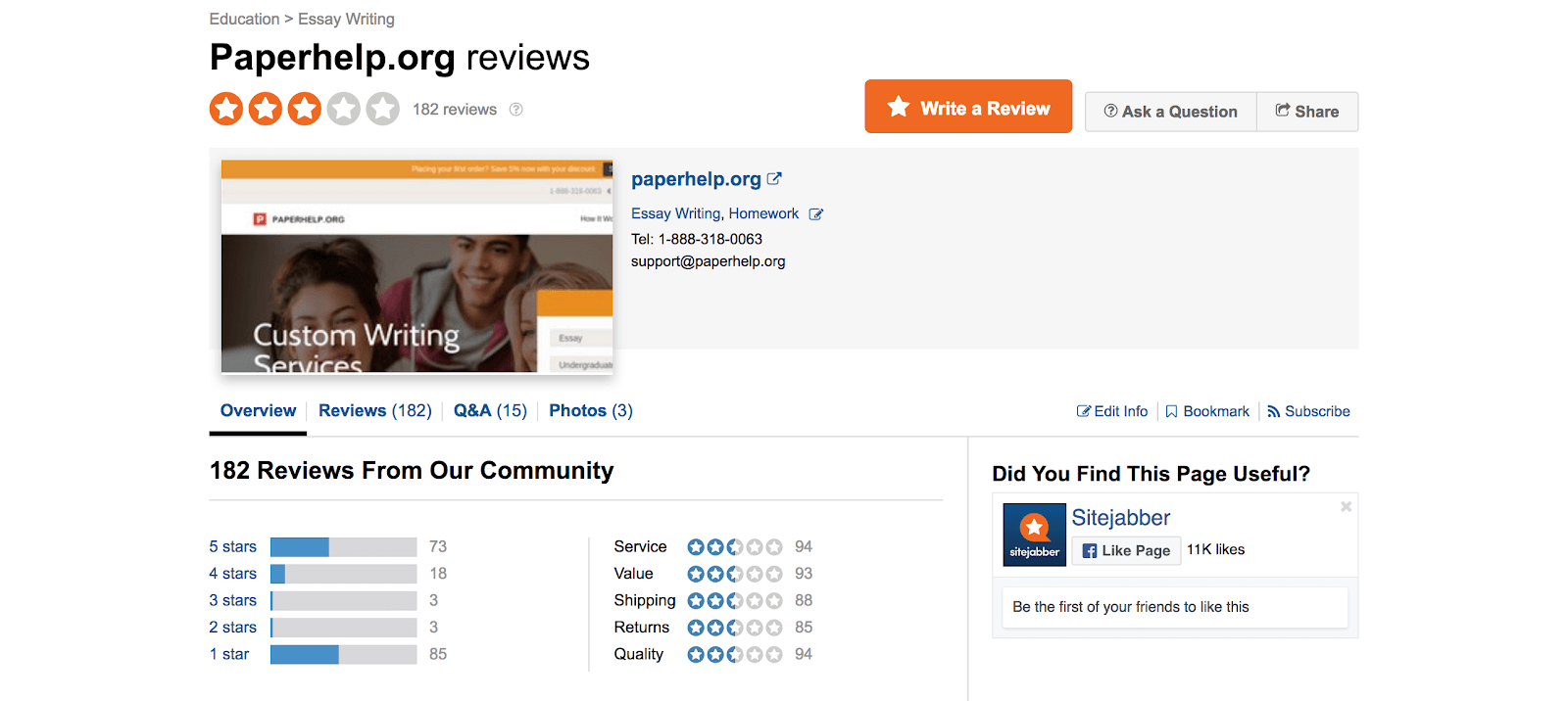paperhelp reviews at sitejabber