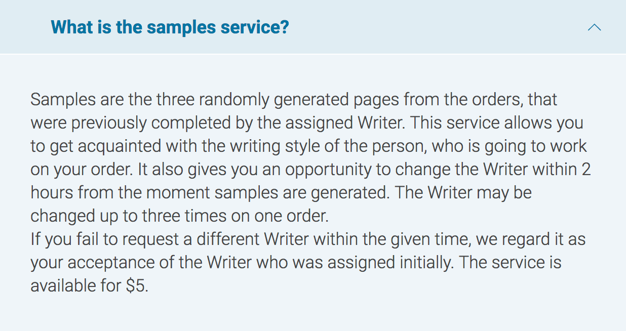 Customwritings.com samples