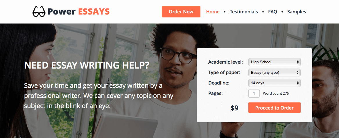 power-essays.com homepage