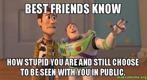 best friends know