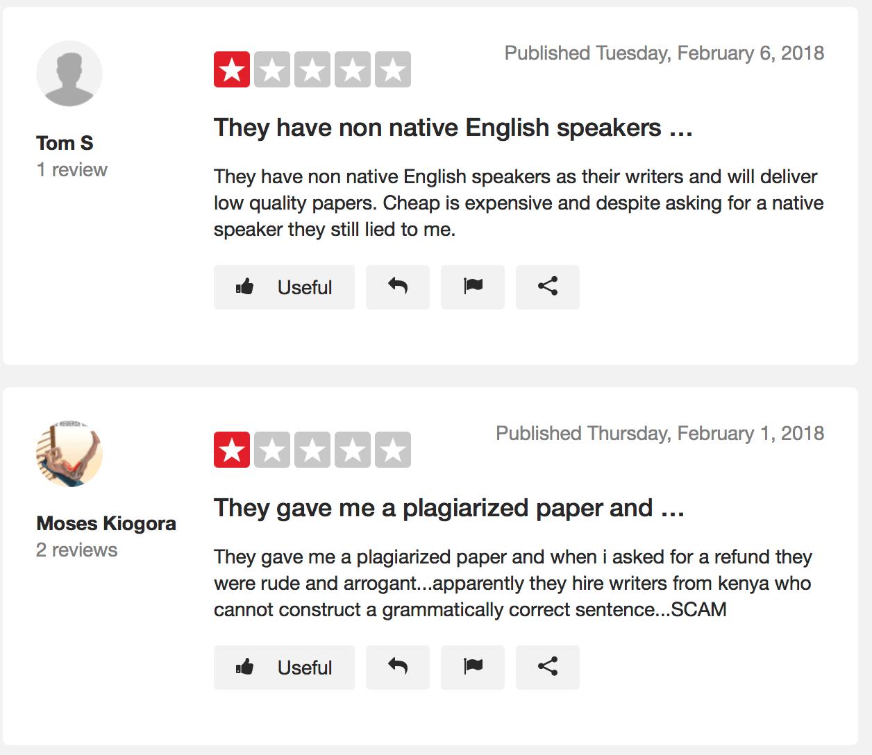 Trustpilot essaypro review 2