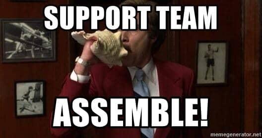 support team assemble