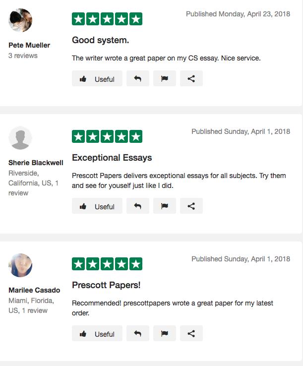sitejabber prescott papers review