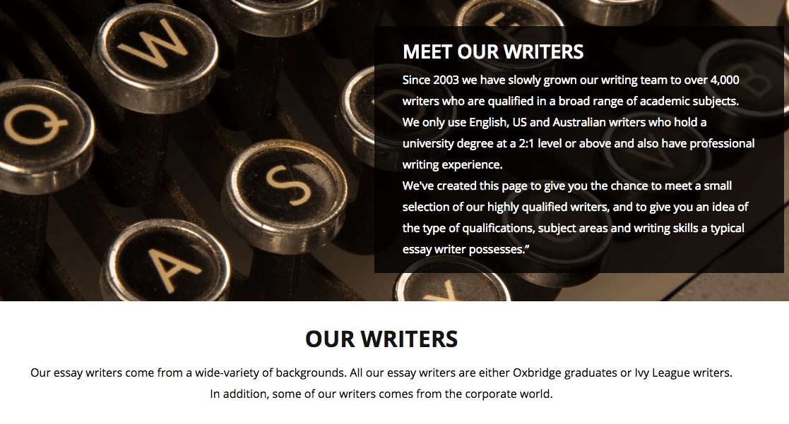 the unitutor writers