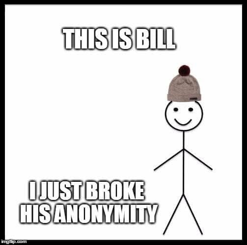 This is Bill